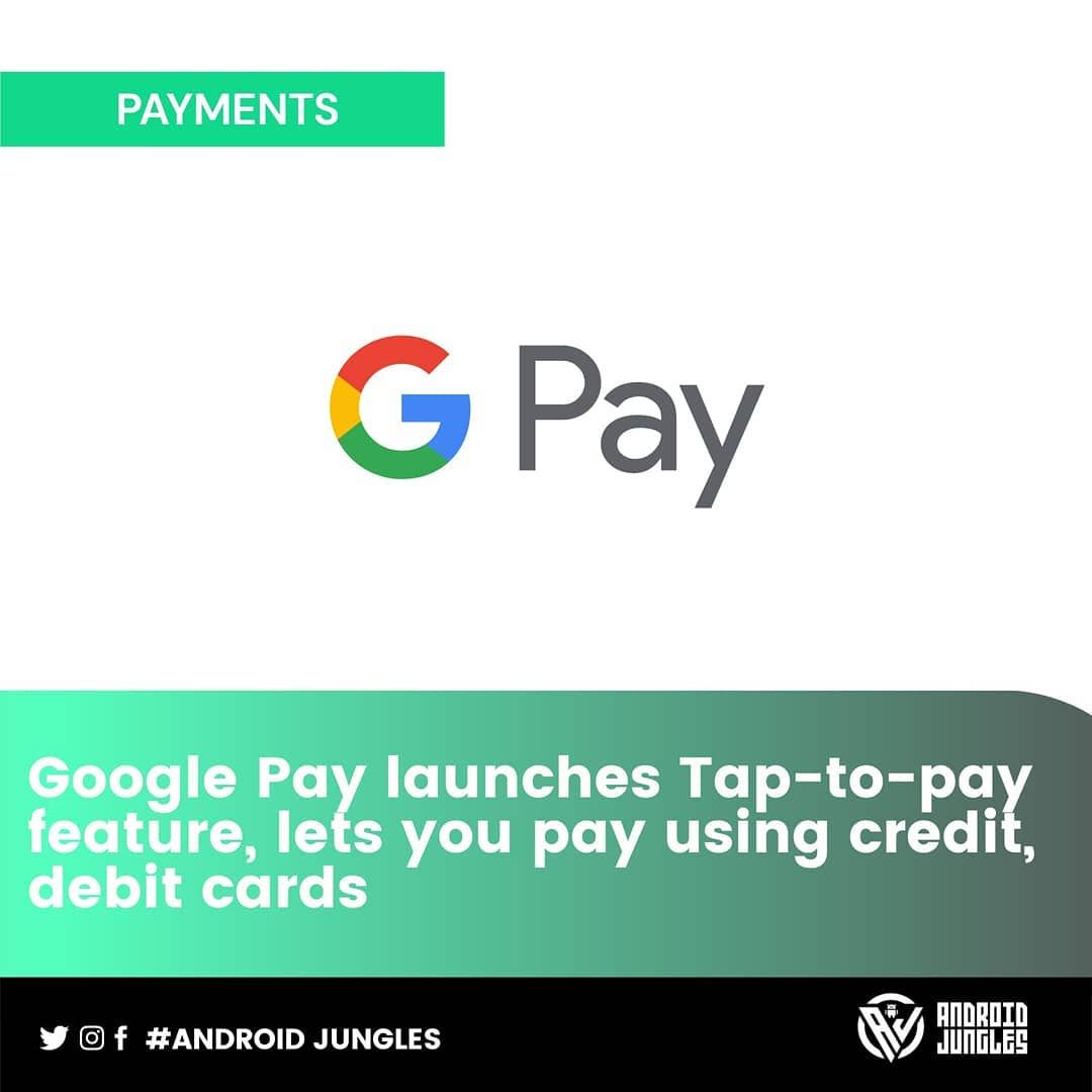 Google Pay S Tokenisation Feature Allows Android Users To Use Their Debit Or Credit Card To Make Payments Via A Secure Digital In 2020 Secure Digital Debit Card Debit