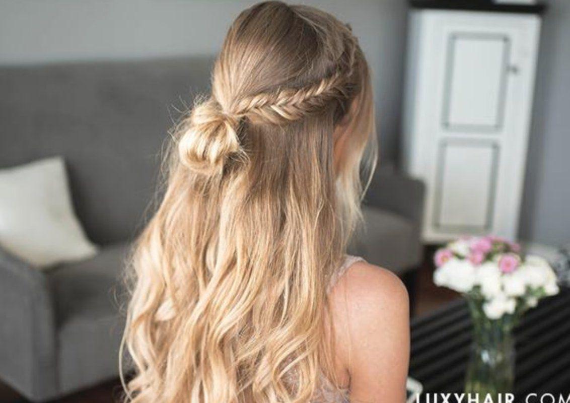 3 Easy Prom Hairstyles In 2020 Simple Prom Hair Formal Hairstyles Hair Styles