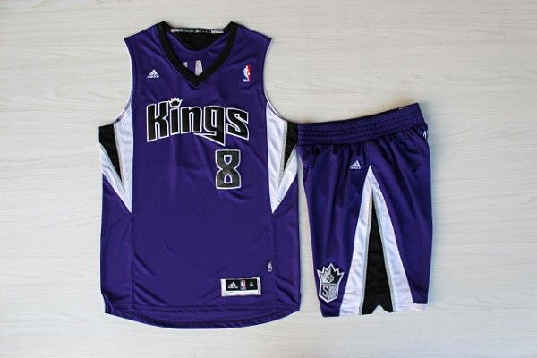 outlet store 1aeda c0b00 NBA Sacramento Kings #8 Rudy Gay Purple Jersey With Shorts ...