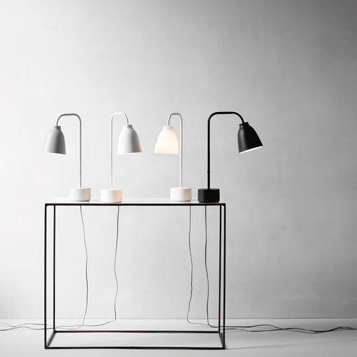 Lampada Da Tavolo Moderna In Metallo Da Interno Caravaggio Read By Cecilie Manz Lightyears Bedroom Trends Lamp White Table Lamp