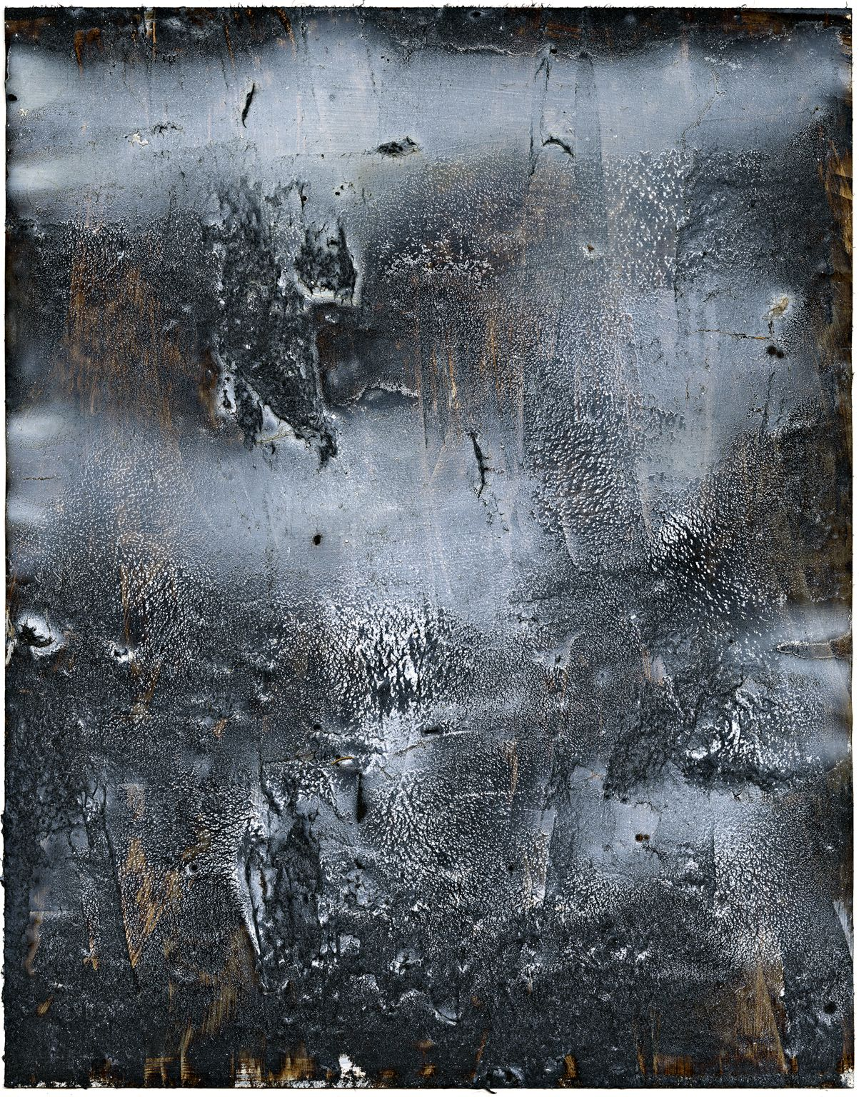 Twilight VII by Rick Lewis - Oil, Plastic Asphalt, Spray