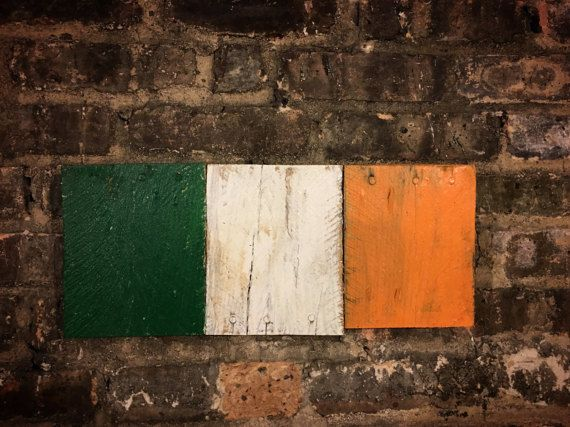 Irish flags just in time for St. Patrick's Day - Grab yours today from UAC and decorate your den for the festivities! https://www.etsy.com/listing/512501905/irish-flag-flags-vintage-irish-flag-of