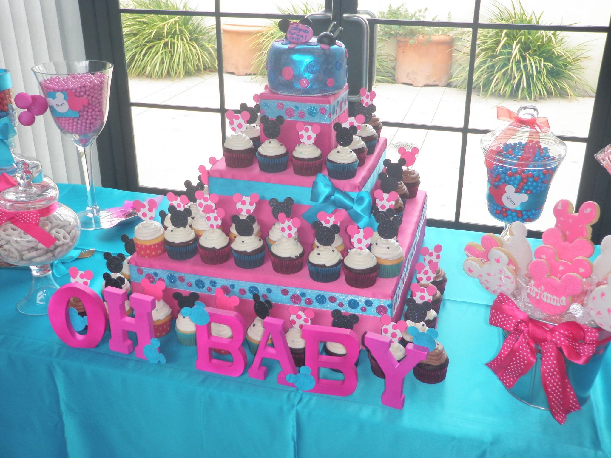 minnie mouse baby shower theme events blog archive minnie