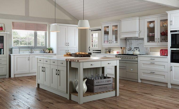 cucine-bianche-classiche-dettagli-rustici | INTERIOR DESIGN | Cucine ...