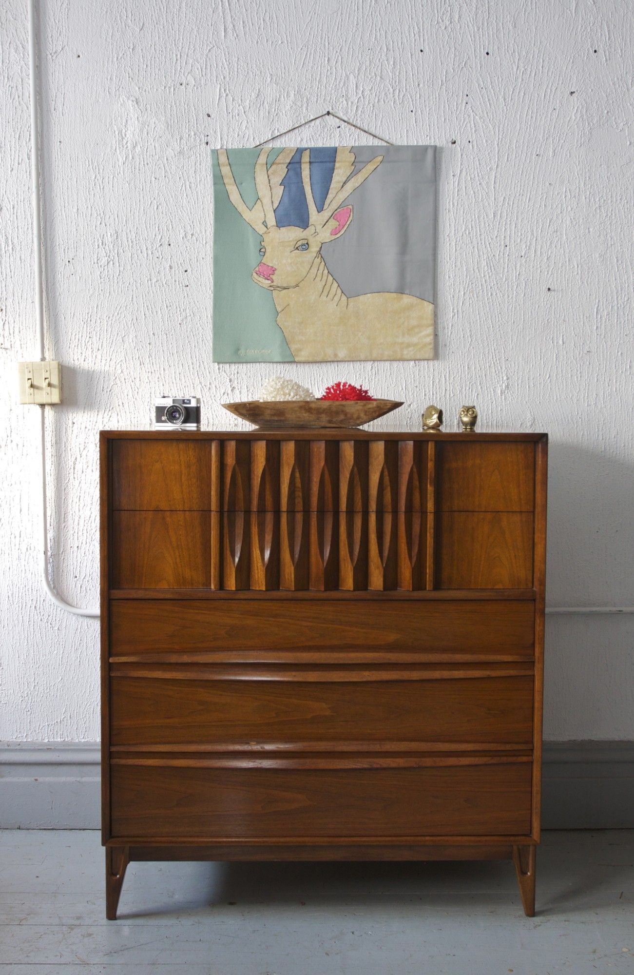 Mid Century Highboy By Thomasville 695 Chicago Http Furnishly