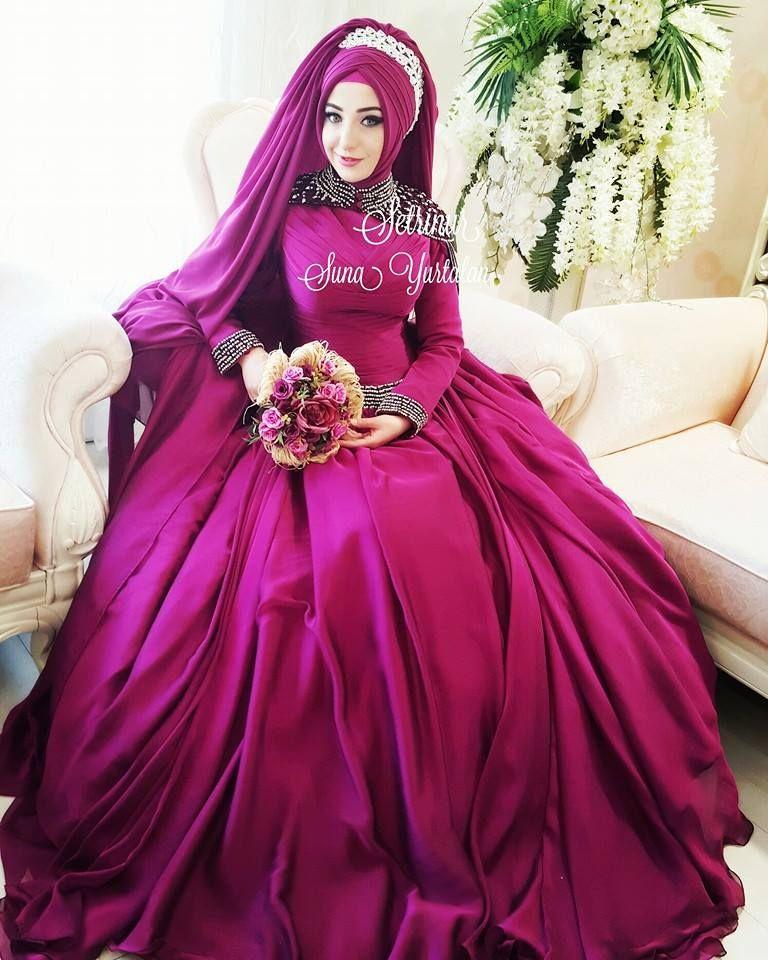 Pin de $@L@@m en Hijabi Brides | Pinterest | Azul y Boda