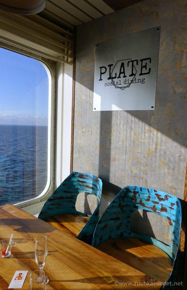 Plate Social Dining restaurant at Viking Mariella cruise boat was a nice experience.
