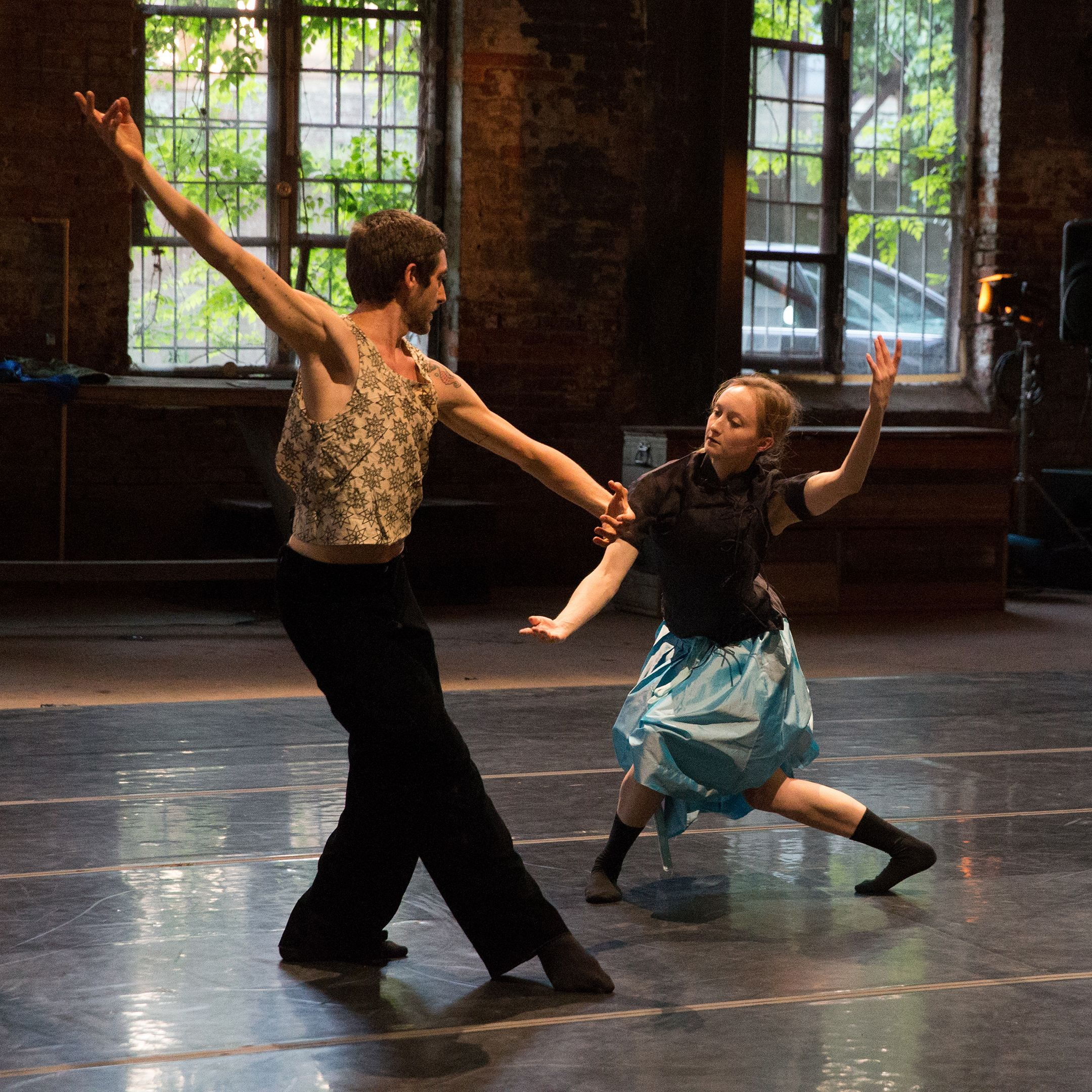 CORE performance Co. in The Liberated Accident-- Erik & Rose photos by John Ramspott (c) 2013