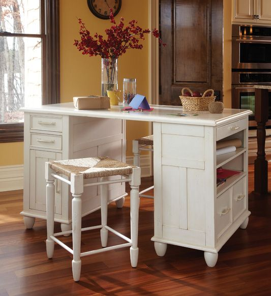 white craft desk with stools what an awsome work space it has rh pinterest com white corner craft desk white craft desks with storage