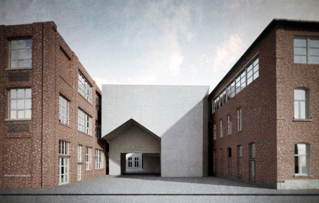 Aires Mateus gana concurso para la Universidad de Arquitetura de Tournai
