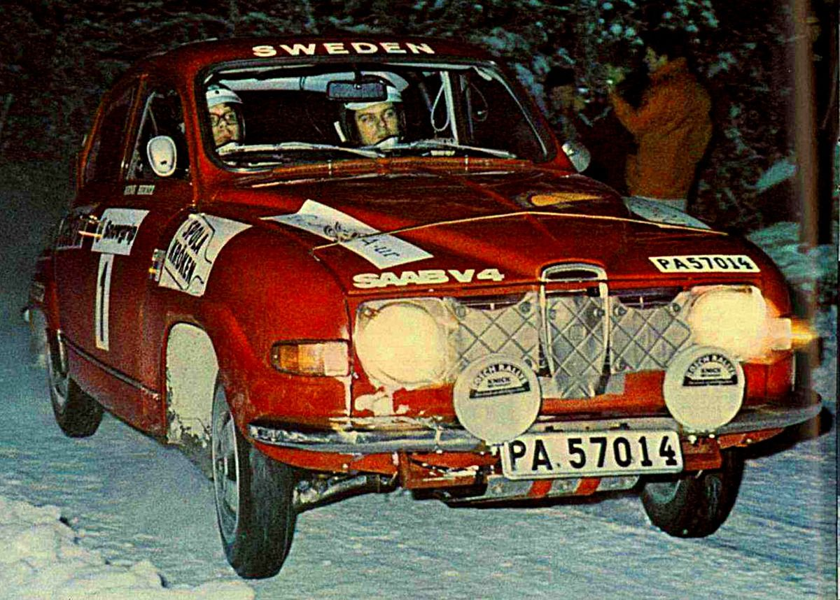 1973 Swedish Rally (Stig Blomqvist) Saab 96 V4 Rally car