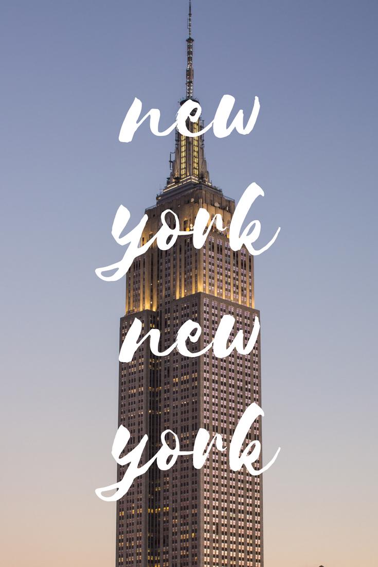 Ich liebe New York!