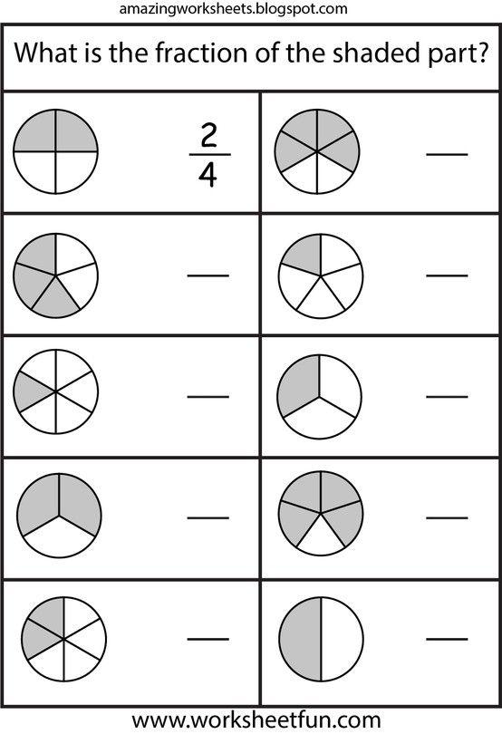 Fractions Math Fractions Worksheets 2nd Grade Math Worksheets Fractions Worksheets Second grade fraction worksheets