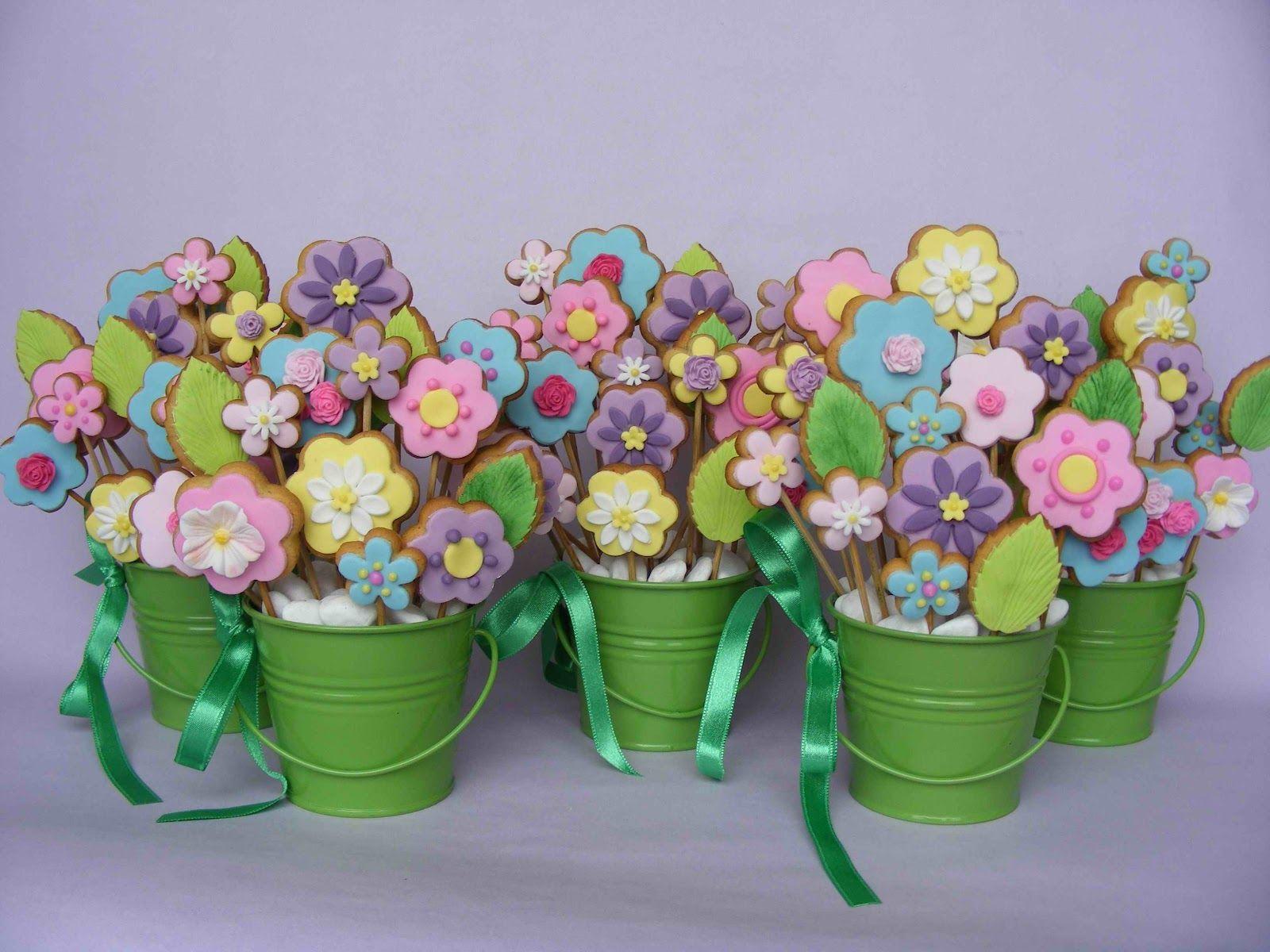 Cookie Flower Pots | Great Ideas: Food | Pinterest | Sugar cookies ...