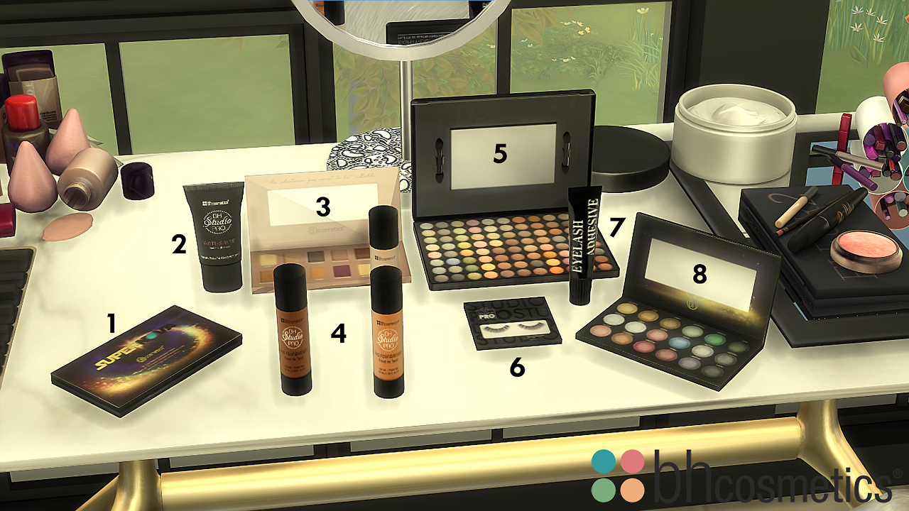 TS4 bh Cosmetics Set**This set rangers from 100399