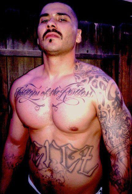 Sexy latino thugs