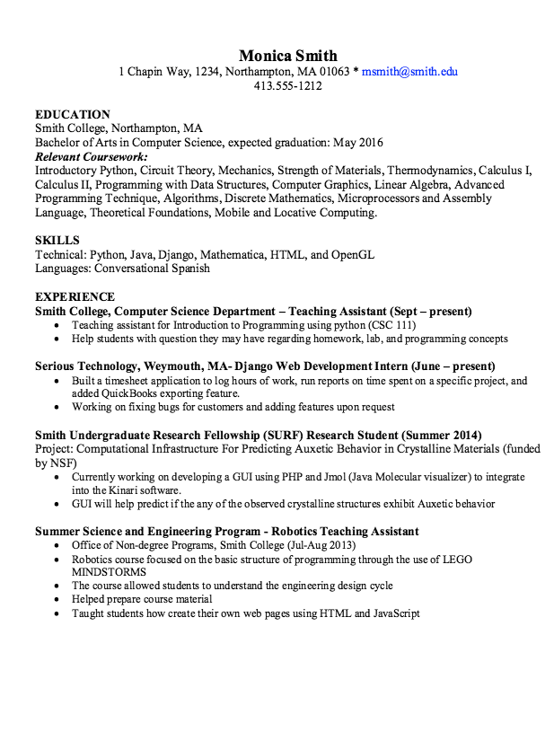 In Post This Time We Will Give A Example About Sample Of Phyton Programmer  Resume Sample That Will Give You Ideas And Provide A Reference For Your Own  ...  Programming Resume Examples