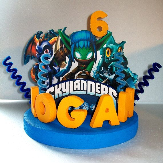 Skylanders Custom Personalized Cake Topper Centerpiece On 39 00