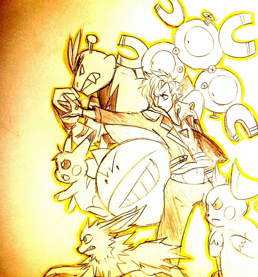 Team instinct spark tumblr pokémon pinterest pokémon