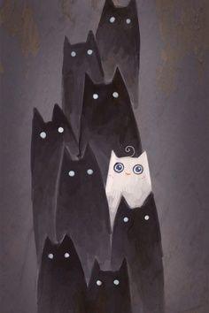 Pin By Jennifer Daruich Fassi On Paintings Cat Art Cats Art