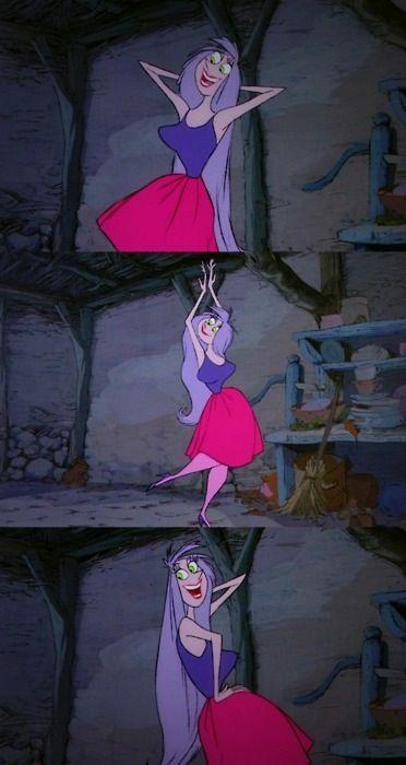 Silvery Voice Long Purple Hair The Dancer Disney Nerd Disney Images Disney Art
