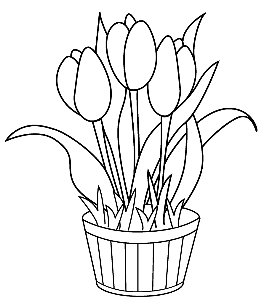 Being Able To Use My Creativity To Thank You In A Small Way To Our Flower Coloring Pages Printable Flower Coloring Pages Birthday Coloring Pages