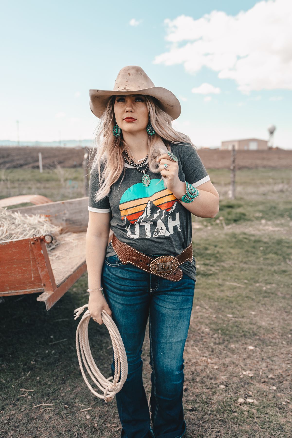 The Utah Tee — Wild Rag Boutique