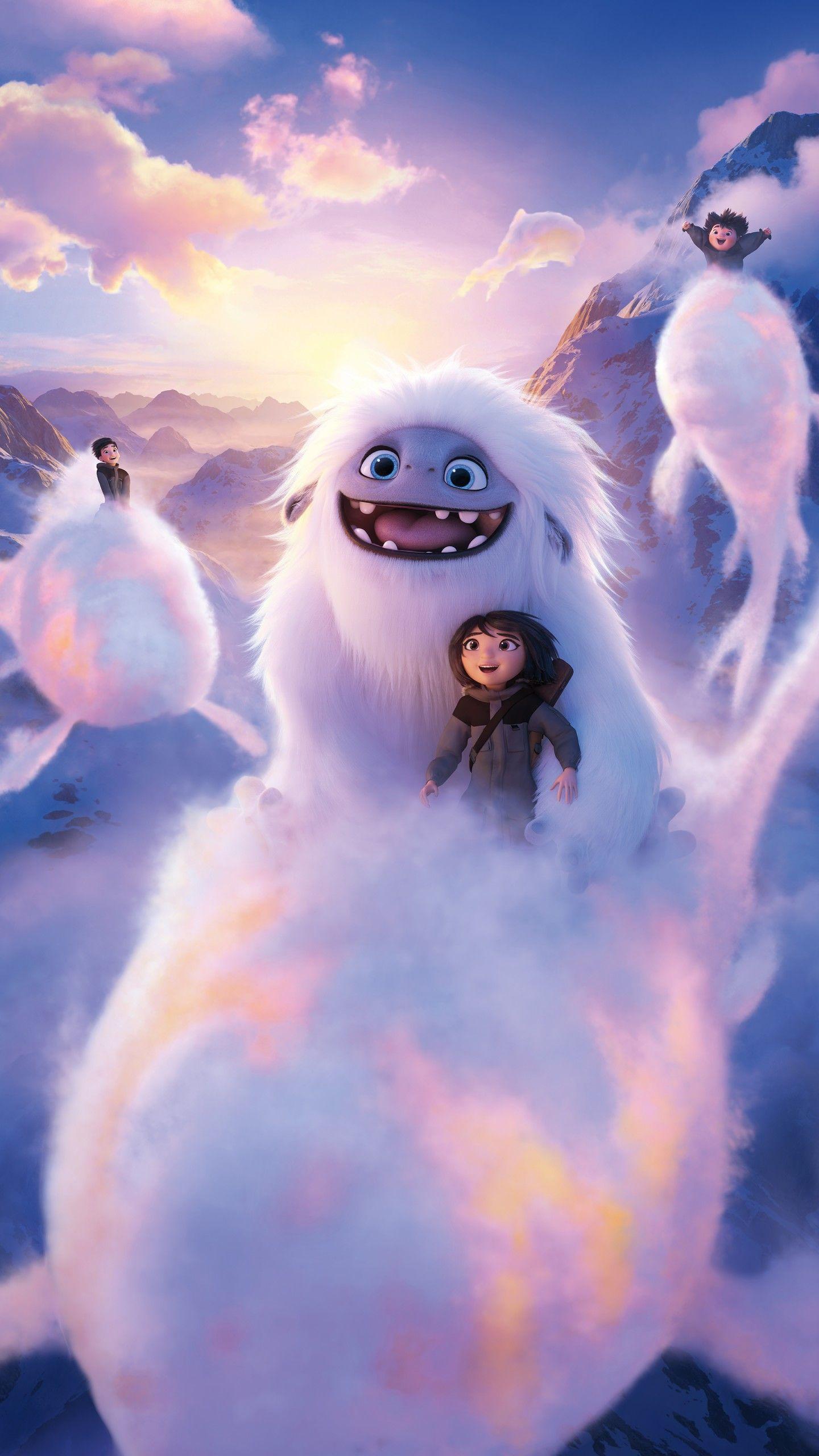 Yeti Efsanesi Abominable Buyulu Ozellikleri Olan Yavru Bir Yeti Varliginin Hikayesi Animasyon Filmler Animasyon Animasyon Karakteri