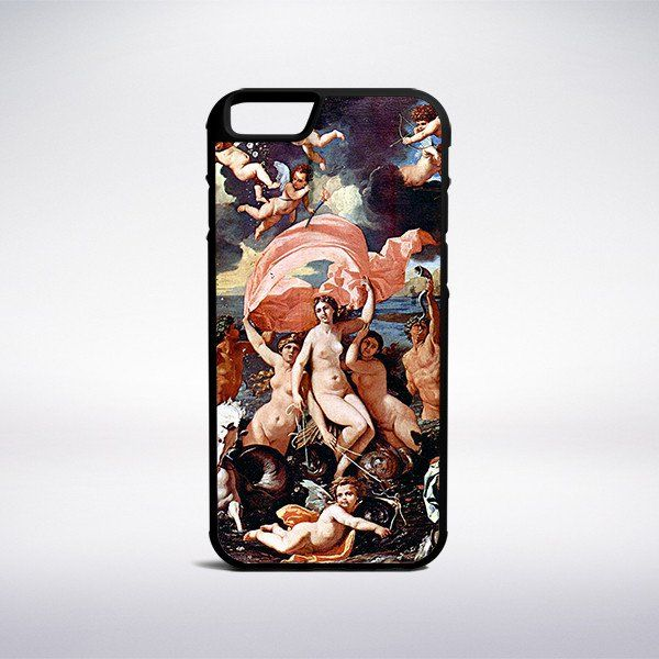 Nicolas Poussin - Nymph And Satyr Drinking Phone Case – Muse Phone Cases