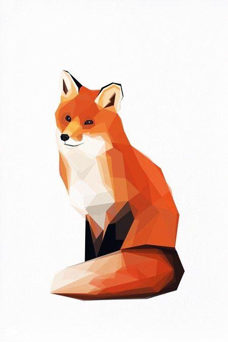 Pinterest renard animal et for Art minimal et conceptuel
