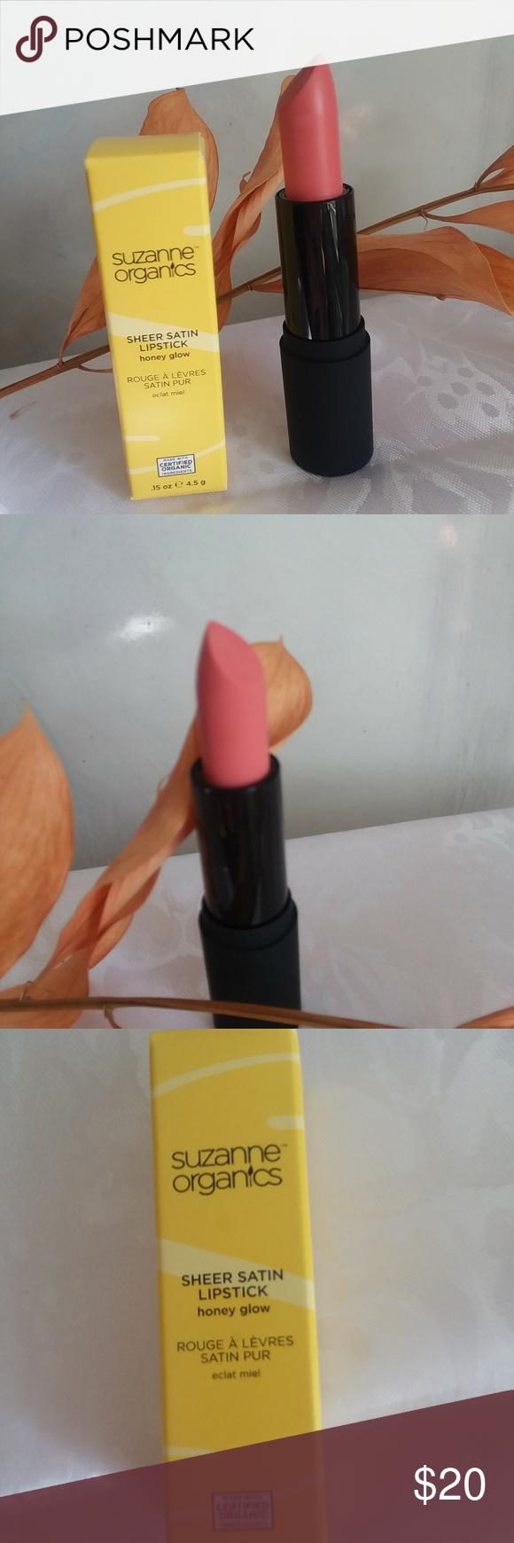 Suzanne Organics Lipstick Honey Glow Suzanne Somers New