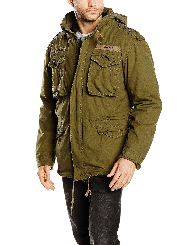 b877a7a0c50 Brandit Men s M-65 Giant Jacket Olive at Amazon Men s Clothing store ...