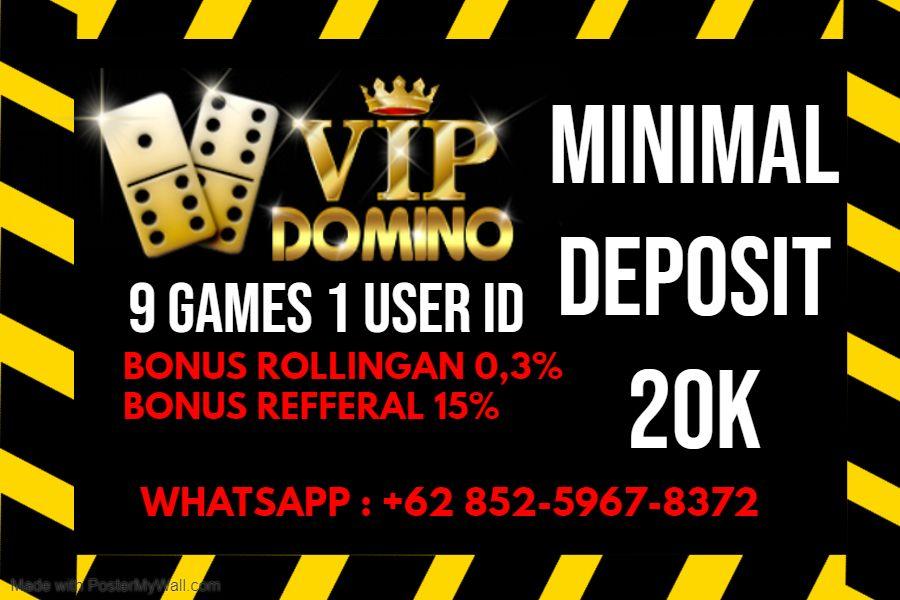 Vip Domino Domino Novelty Sign Vip