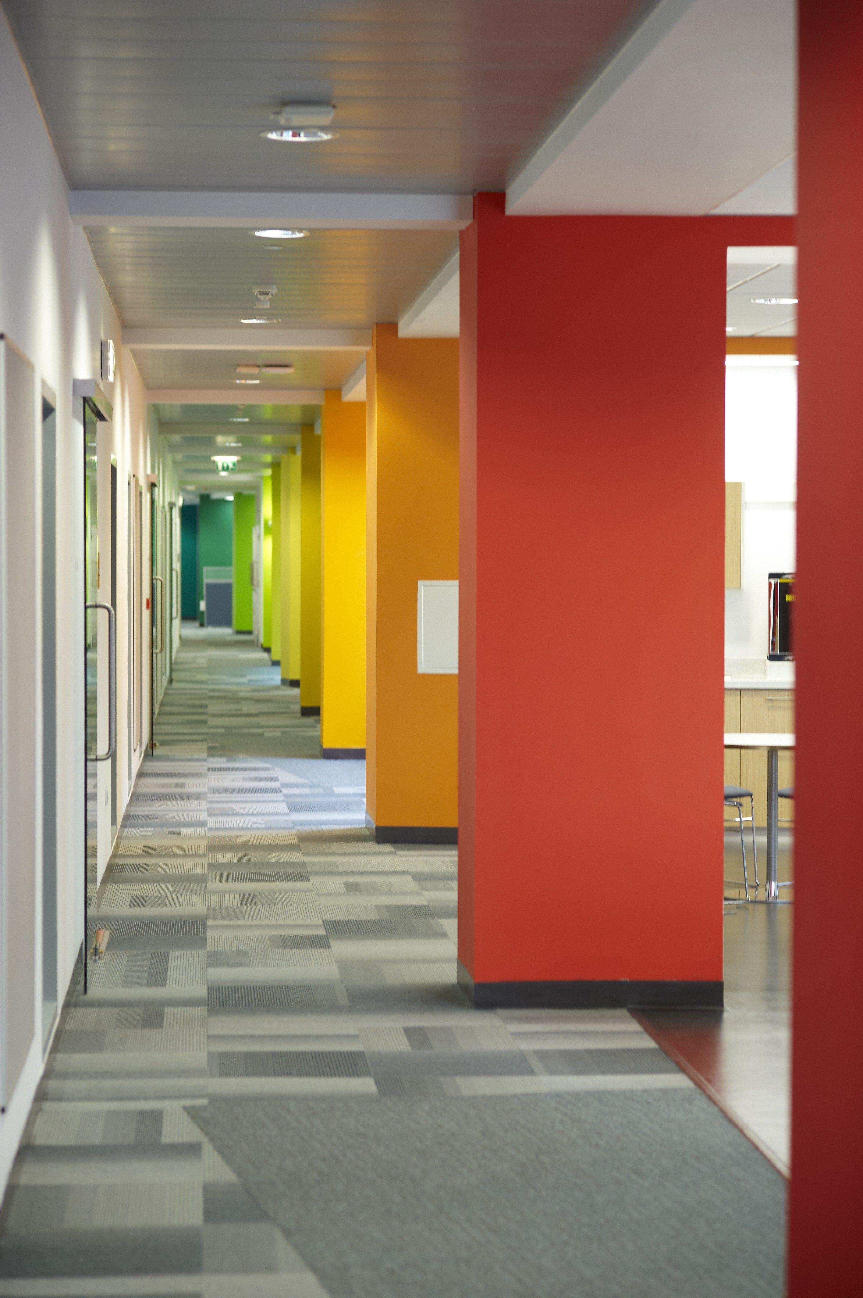 Corridor Design: The Roslin Institute Building HDR Architecture