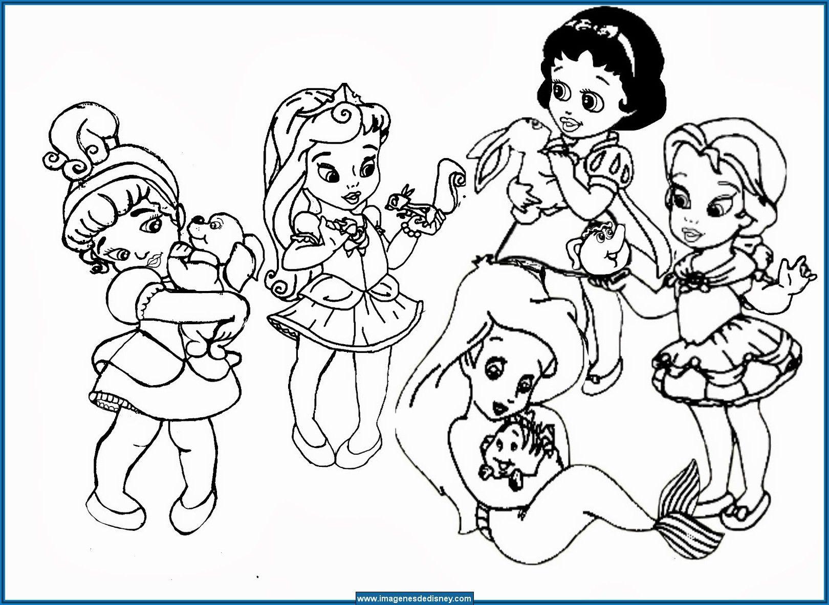 Imagenes De Niños Pintando Para Colorear: Resultado De Imagen Para Dibujos Para Pintar De Princesas