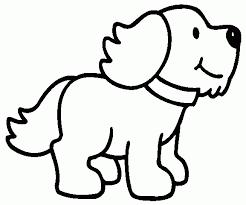 Resultado De Imagen Para Dibujos Para Pintar Ninos De 2 Anos Puppy Coloring Pages Dog Coloring Page Dog Template