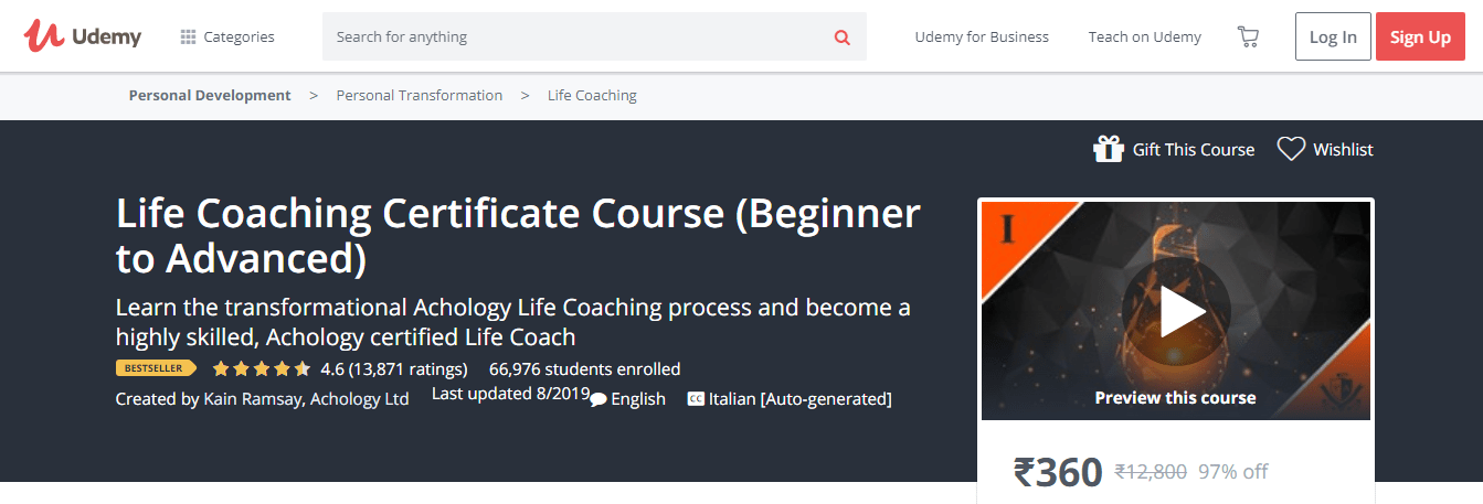(100% Working Updated) 7 Best Life Coaching Courses & Certification 2019 #lifecoachingtools In this post, I have listed 7 best Life Coaching Courses, Training, and Certifications available online in . In this list, both free and paid resources mentioned helping you learn life coaching. All of these courses are awesome for everyone The post (100% Working Updated) 7 Best Life Coaching Courses & Certification 2019 appeared first on Bloggers Ideas. #lifecoachingtools (100% Working Updated) 7 Best Li #lifecoachingtools