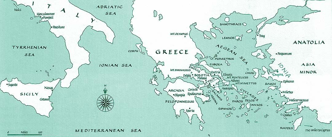 Map of ancient greek world world of maps pinterest ancient map of ancient greek world world of maps pinterest ancient greece homeschool and geography gumiabroncs Images
