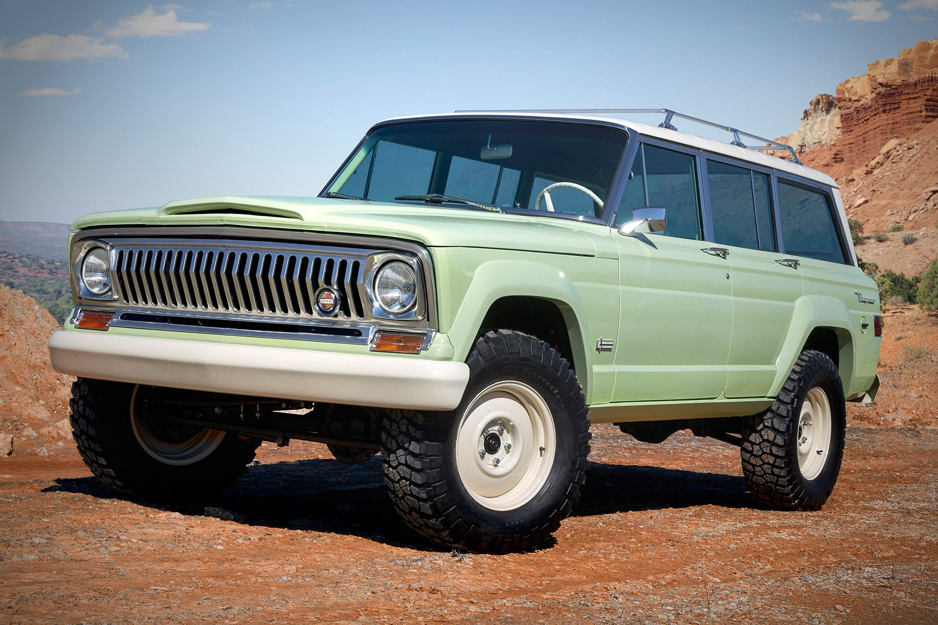 Based On A 1965 Model The Jeep Wagoneer Roadtrip Concept Recalls