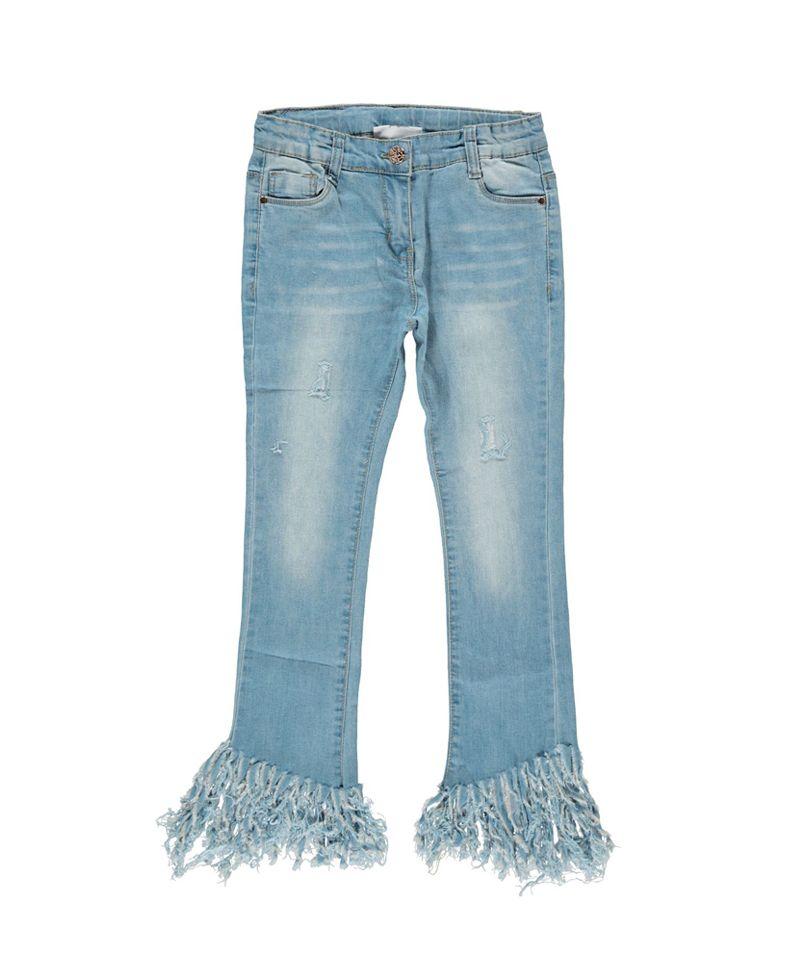 Παντελόνι Τζιν Με Κρόσια  παντελόνι  παντελόνια  παντελόνι τζιν  τζιν   κορίτσι  κρόσια  pantelonia  jeans  girl  poulain 5840700d627