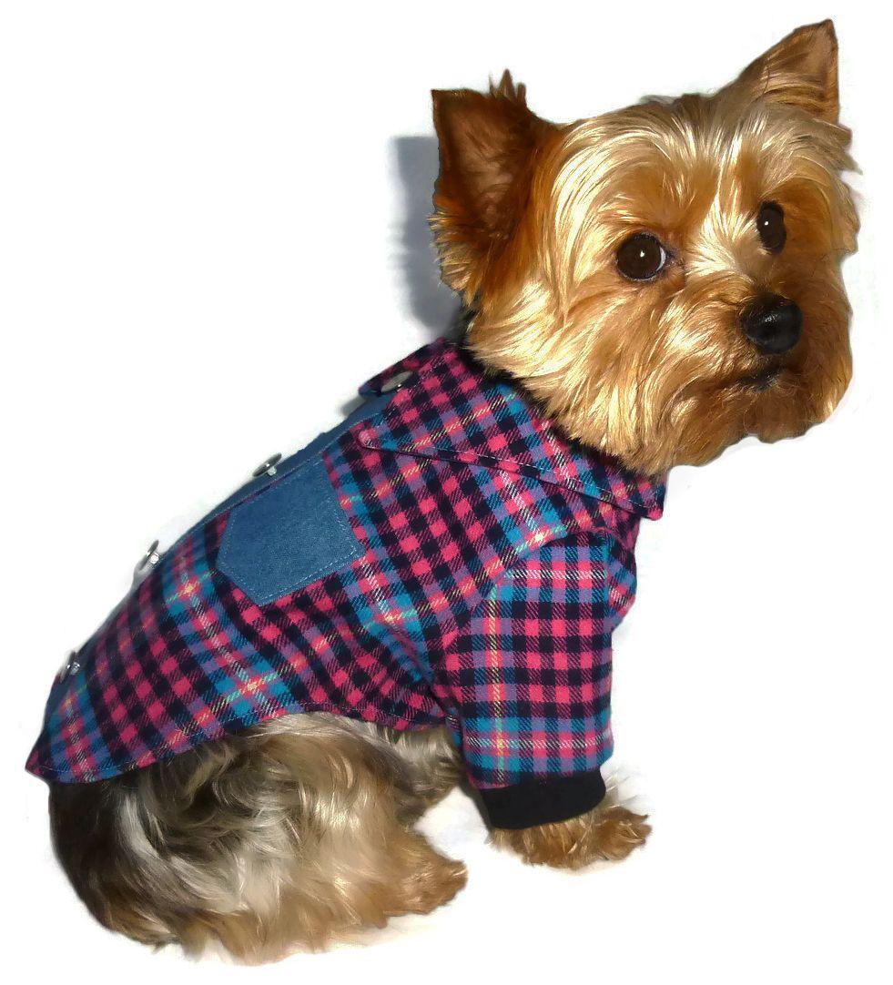 Lumberjack dog shirt pattern 1563 small medium dog clothes 1563 lumberjack dog shirt pattern for the little dog 825 jeuxipadfo Image collections
