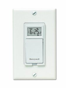 Honeywell 7 Day Programmable Timer 22 Bought This To Program All Outdoor Lights As I Always Forget Turn Them Off