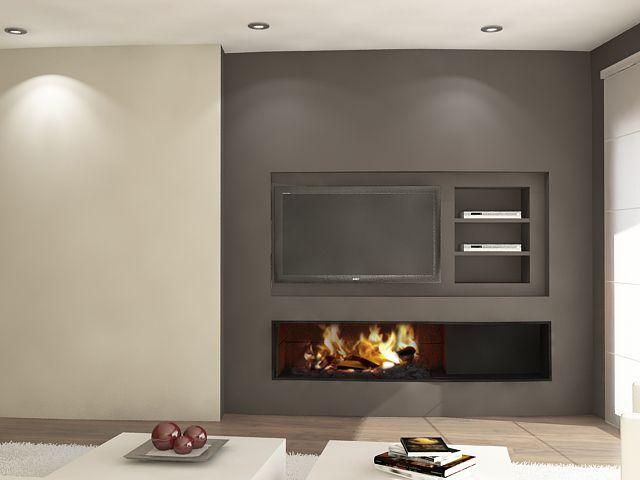 Chimeneas Modernas Chimeneas Pio fireplace in the living room - chimeneas modernas