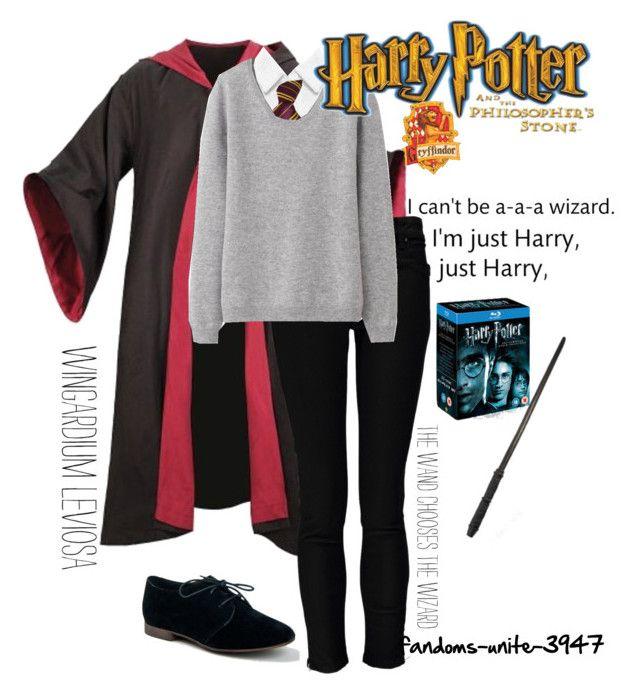 Harry Potter Marathon by fandoms-unite-3947 on Polyvore featuring moda, Uniqlo, Alice + Olivia, Forever Unique and Breckelle's