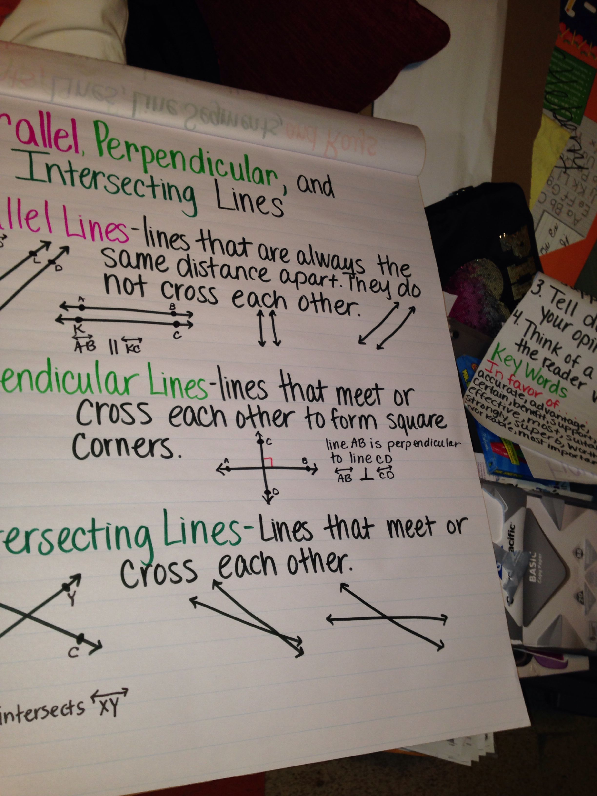 small resolution of Perpendicular Lines Worksheets 4th Grade   Printable Worksheets and  Activities for Teachers