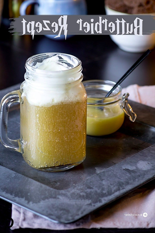 Butterbier Rezept für eine Harry Potter Party #butterbierrezept