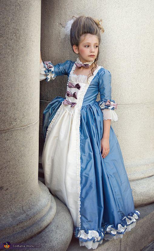 Marie antoinette costume girl costumes costume ideas and costumes - Stijl van marie antoinette ...