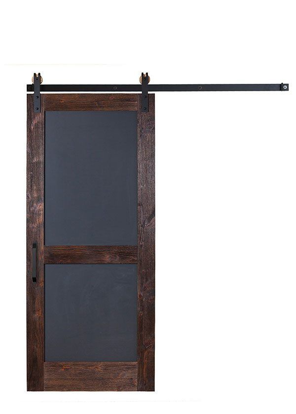 A Chalkboard Door For Adults And Children Our Two Panel Design Allows For Durability To Interior Sliding Barn Doors Sliding Doors Interior Barn Doors Sliding