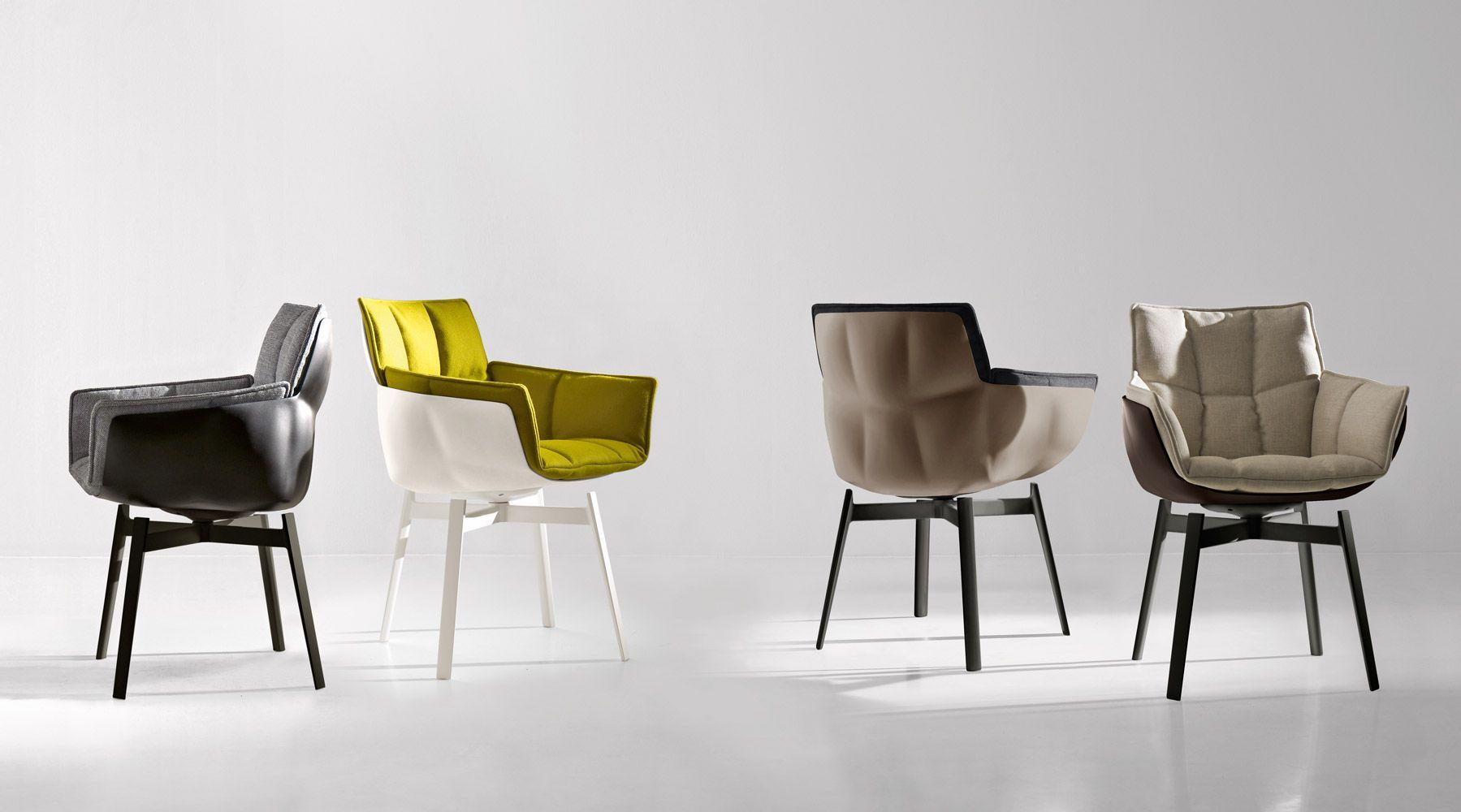 Bu0026b Italia Husk Chairs