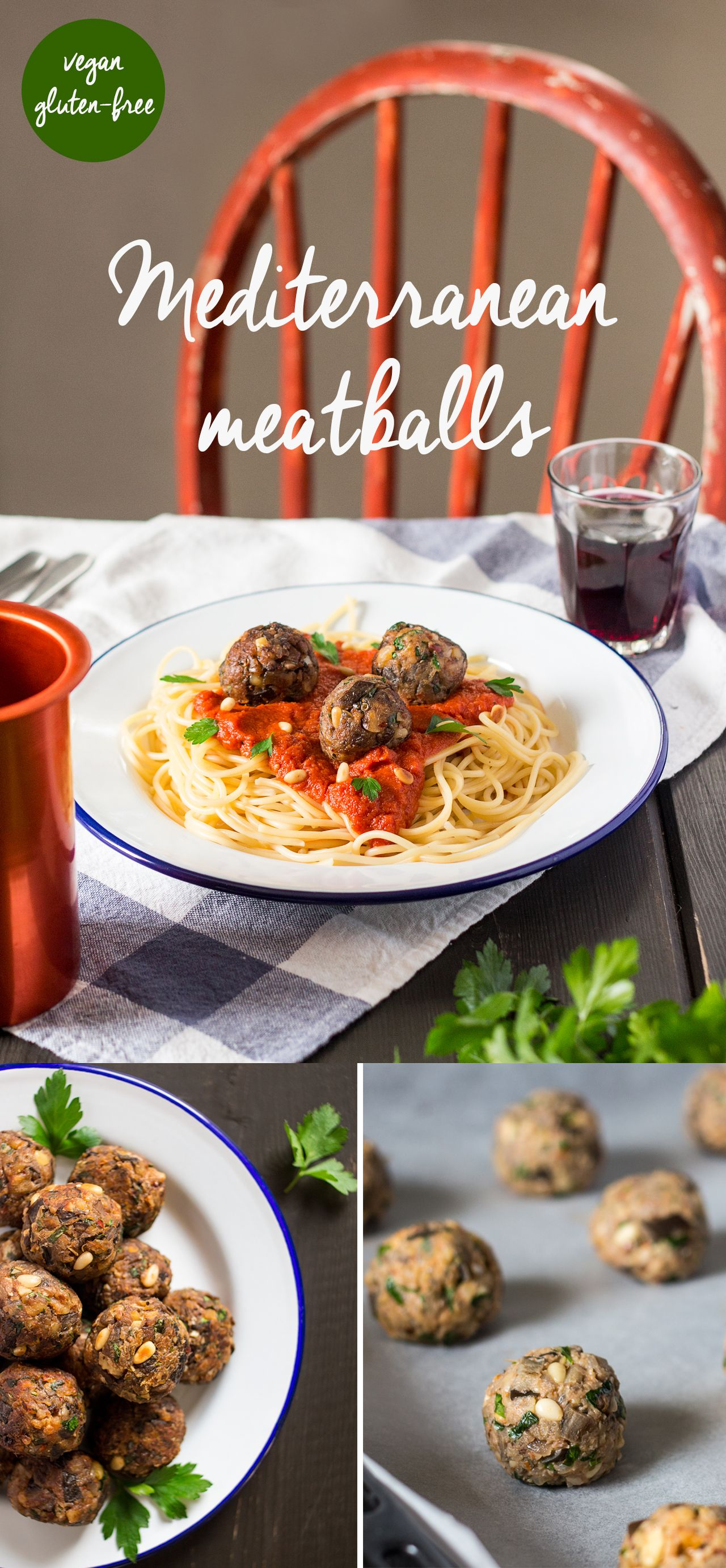 Easy Vegan Meatballs
